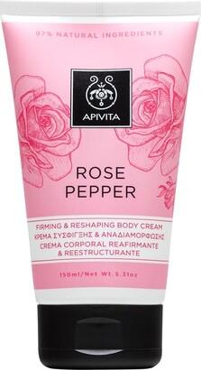 Apivita Rose Pepper Body Cream 150ml