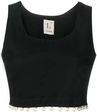 8775cd1ecf17ba Black Vest Crop Top - ShopStyle Canada