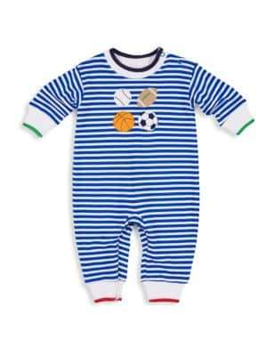 Florence Eiseman Baby Boy's Striped Sports Coverall