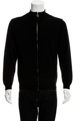 Gianni Versace Zip Polo Sweater