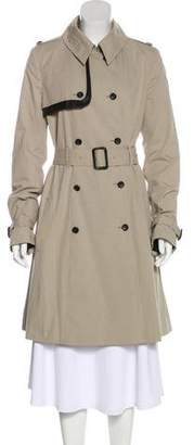 Elizabeth and James Long Trench Coat