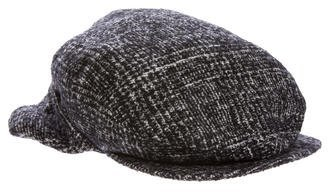Celine Céline Wool-Blend Tweed Hat