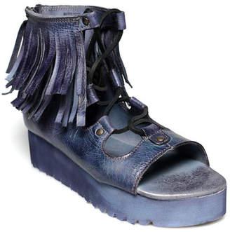 Bed Stu Bed|Stu Madison Fringe Platform Sandal