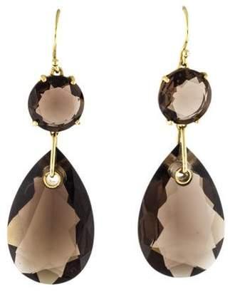 Ippolita 18K Smoky Quartz Drop Earrings