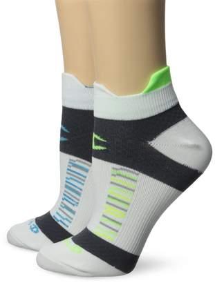 Champion Women's Double Heel Shield Compression Running Socks