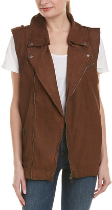 Jakett Angela Nubuck Leather Vest