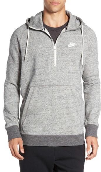 Men's Nike 'Sportswear Legacy' Quarter Zip Hoodie