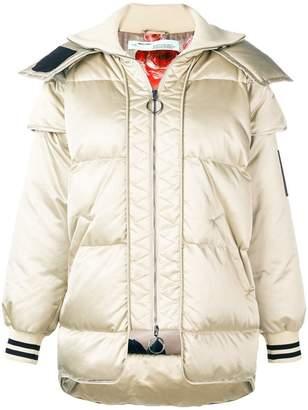 Off-White hooded padded jacket