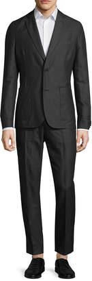 J. Lindeberg Hopper Light Linen Notch Lapel Suit