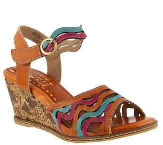 Spring Step L ARTISTE Women's L'Artiste by Spring Step, Melania Wedge Sandals