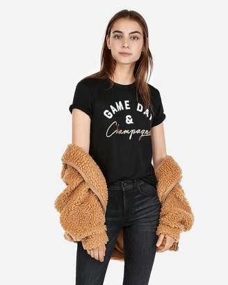 Express One Eleven Game Day And Champagne Tee