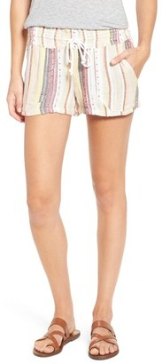 Roxy 'Oceanside' Drawstring Shorts $39.50 thestylecure.com