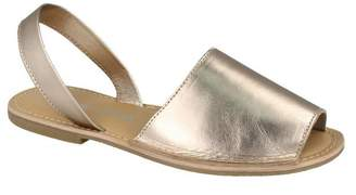 Leather Collection Womens/Ladies Slingback Mule Sandals (US Size 7)