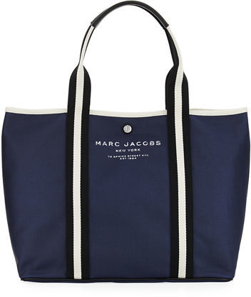 Marc Jacobs Marc Jacobs Canvas Shopper Tote Bag