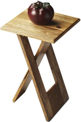 Butler Specialty Butler Hammond Natural Wood Folding Table