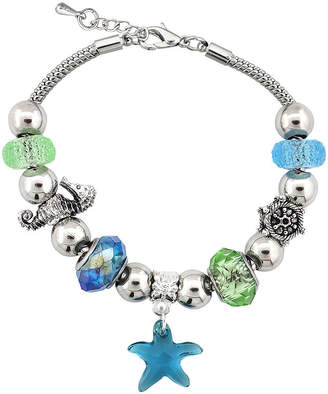 SPARKLE ALLURE Dazzling Designs Starfish Artisan Bead Bracelet