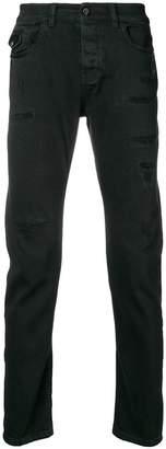 Frankie Morello distressed skinny jeans