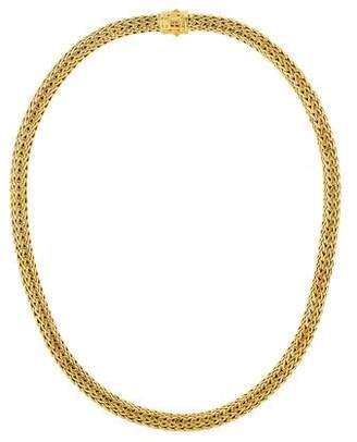 John Hardy 18K Diamond Pavé Classic Chain Necklace