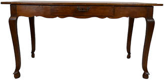 One Kings Lane Vintage 19th-C. French Cherry Farm Table - Countryside Antiques