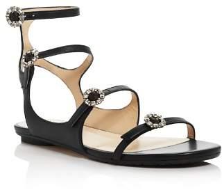 Jimmy Choo Women's Naia Embellished Gladiator Sandals
