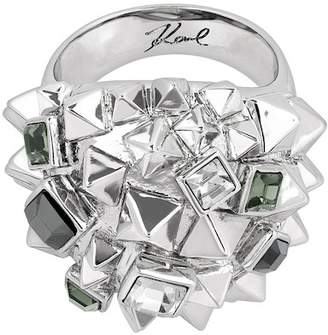 Karl Lagerfeld Pyramid Cluster Ring - Size 8