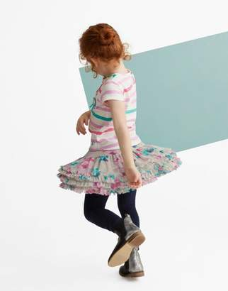 Joules Clothing Cool Grey Rosebud Lilian Tutu Skirt 1yr