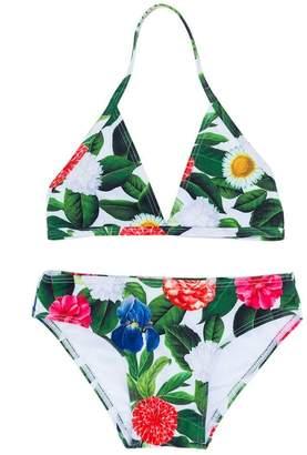 Oscar de la Renta Kids Flower Jungle bikini