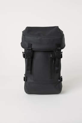 H&M Rubber Backpack - Black