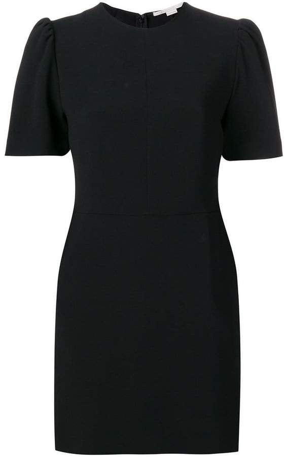 fitted silhouette dress