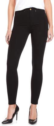 Bebe Black High-Rise Skinny Pants