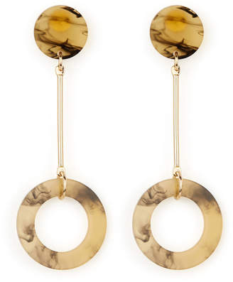 Warehouse Circle Drop Earrings