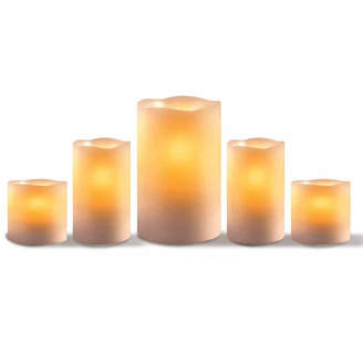 APOTHECARY Apothecary Led Candles Everyday Core 5-pc. Flameless Candle