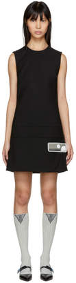 Prada Black Short Gum Patch Dress