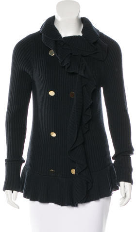 Tory BurchTory Burch Double-Breasted Wool Cardigan