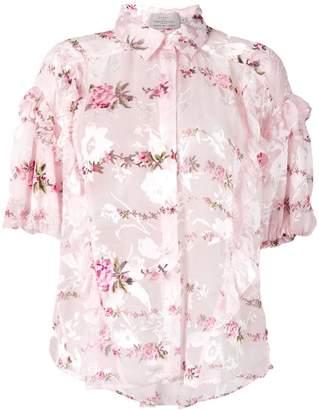 Preen by Thornton Bregazzi floral print blouse