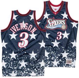 Mitchell & Ness Men's Allen Iverson Philadelphia 76ers The 4th Swingman Jersey