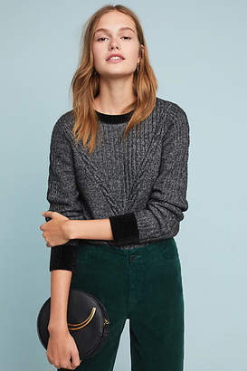 Moth Solace Cable-Knit Sweater