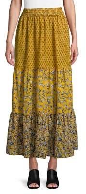 French Connection Savanna Sheer Maxi Skirt