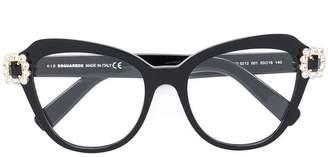 DSQUARED2 Eyewear oversized cat-eye glasses