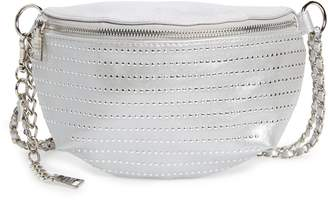 Steve Madden Becca Metallic Studded Belt Bag