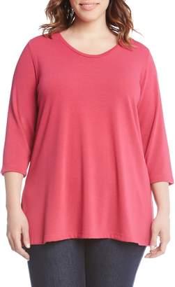 Karen Kane Side Slit Sweater