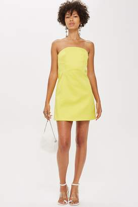 Topshop Bandeau Mini Dress