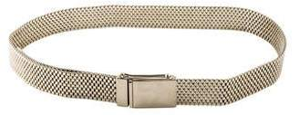 Calvin Klein Collection Chain-Link Adjustable Belt