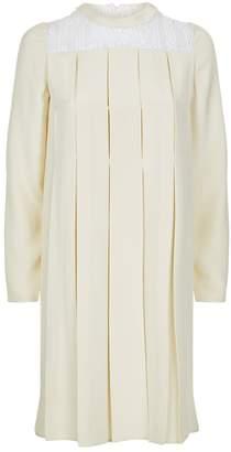 Valentino Pleated Shift Dress