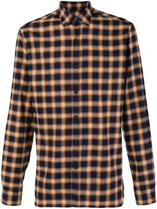 Lanvin checked button shirt
