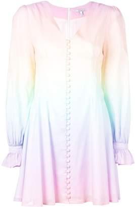 Olivia Rubin button-down ombre dress