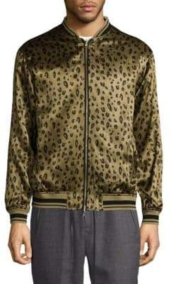 3.1 Phillip Lim Printed Reversible Bomber Jacket
