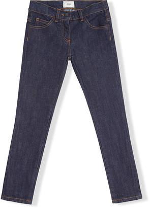 Fendi Kids go patch jeans