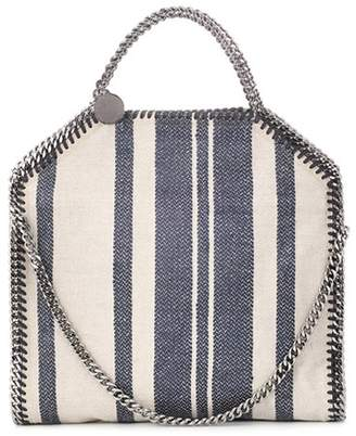 Stella McCartney Falabella striped shoulder bag