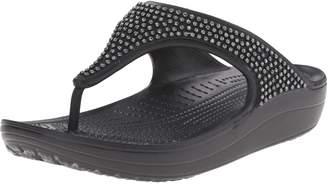 Crocs Women's Sloane Diamante Flip Flop